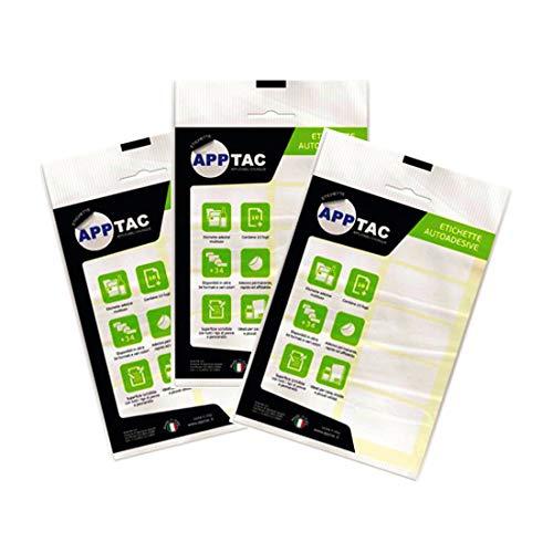 Confezione da 10 Fogli con 6 Etichette Adesive per Foglio Formato mm 70 x 37