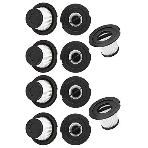 Partes de repuesto para aspiradora 10 unids reemplazo HEPA filtro ajuste para Dibea C17 T6 T1 inalámbrico stick Partes de aspirador accesorios
