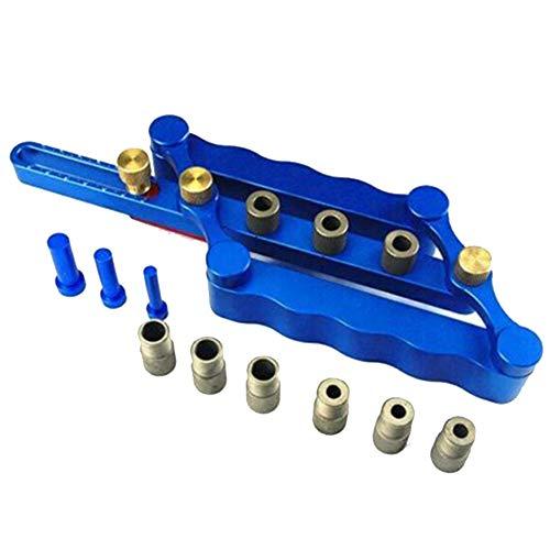 Lanceasy zelfcentrerende verticale gatzoekset positioneerapparaat 6/8 / 10 mm boren houtbewerking