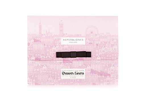 Asper & Jones pruim bloesem en roze peper lade liners