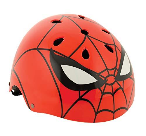Spiderman Ramp Style Helmet, Casco di Sicurezza Ragazzi, Rosso, 54-58 cm