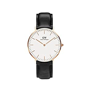 Daniel Wellington Classic Sheffield – Reloj (36 mm, Piel, Unisex),