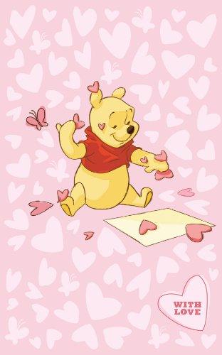 ABC Tappeti Viva Disney Comfort Line Pink Hearts cl 100 x 150 cm