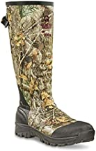 Guide Gear Men's Waterproof Hunting Boots Insulated Rubber Rain Ankle Fit Boots, 800-gram, Realtree Edge, 11D (Medium)