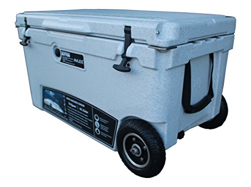 MILEE--Wheeled Cooler 70QT Marble (included $50 accessories) Hanging Wire Basket ,Cooler Divider and Cup Holder are free.