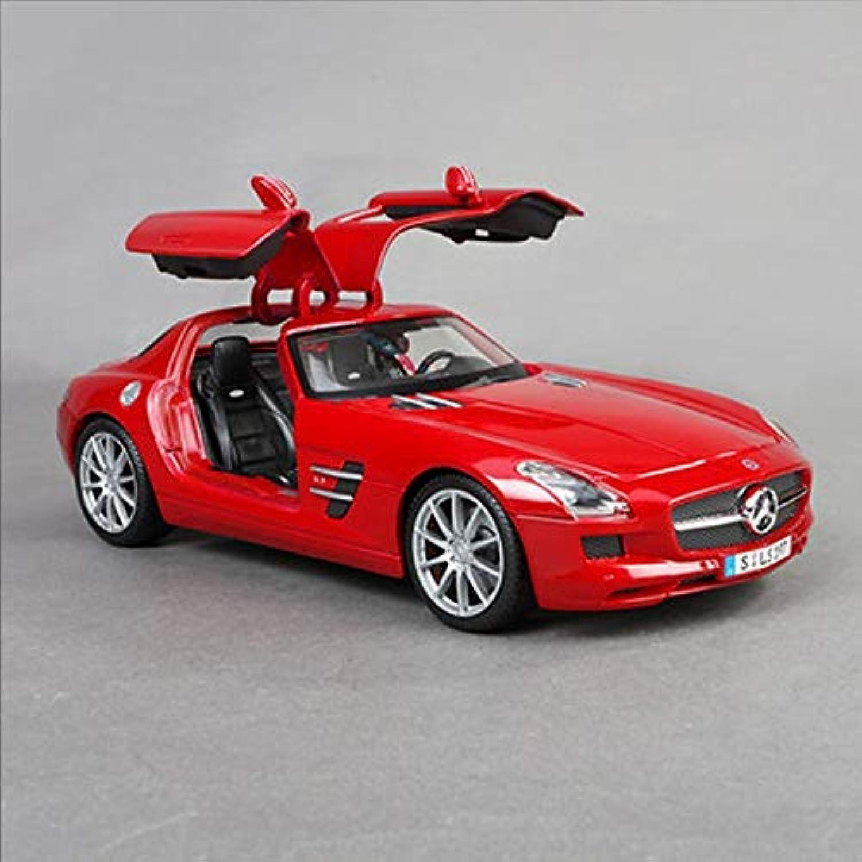 Envío y cambio gratis. XJRHB Modelo de Mercedes-Benz Modelo de aleación de Metal, tamaño tamaño tamaño de Coche  25.8X11.7X7.2cm (Color   rojo)  Web oficial