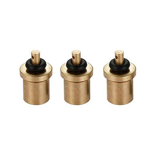 Adaptador de Recarga de Gas de Botella Butano Cartucho de Gas/Bote 3 Piezas, Recarga de Gas para Bote de válvula de Tipo Tornillo, Adaptador de Recarga de Gas Filling Butane Canister
