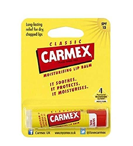 Carmex Classic Moisturising Lip Balm SPF 15 Stick 4.25g