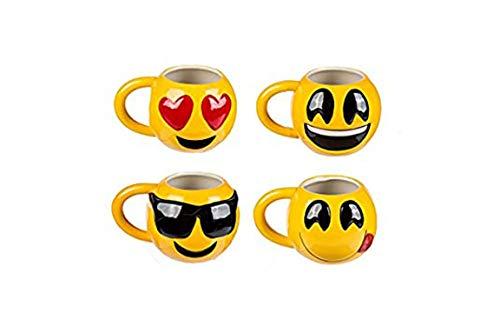 Bada Bing Lustige Jumbo XL Tasse Smiley Kinder lustige Gesichter Kindertasse Oder Für Gute Laune im Büro 47