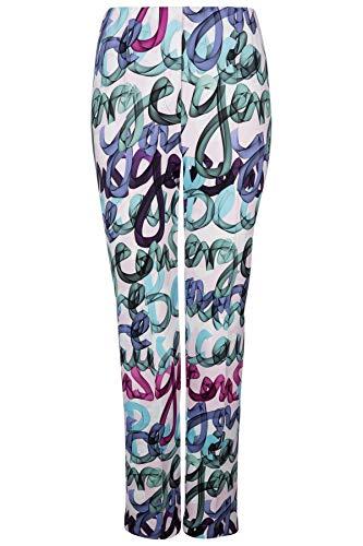 Riani Damen Slim Fit Hose Multicolor - M (38)