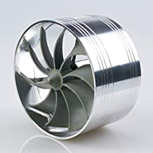 KBH Supercharger Turbine Turbo Air Intake Gas Fuel Saver Fan Turbonator Aluminum Car Charger Acceleration System 3.5-4.0