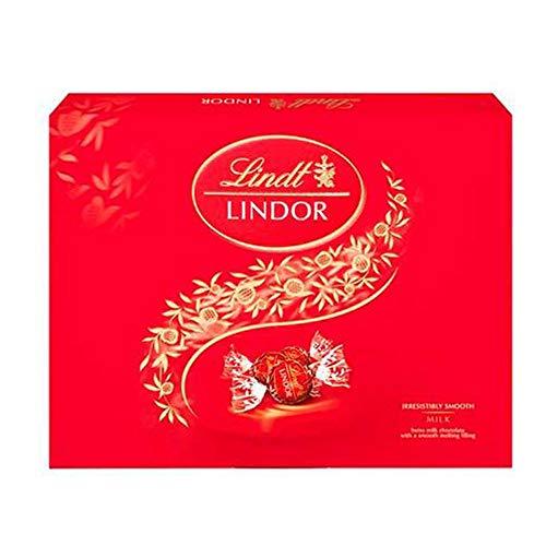 Chocolate Recheado Lindor ao Leite 300g Lindt