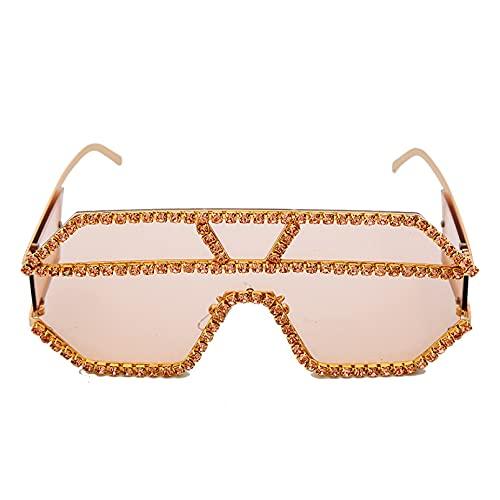LUOXUEFEI Gafas De Sol Gafas De Sol Mujer Gafas De Sol Para Hombre Gafas De Sol De Gran Tamaño Gafas De Sol Para Mujer