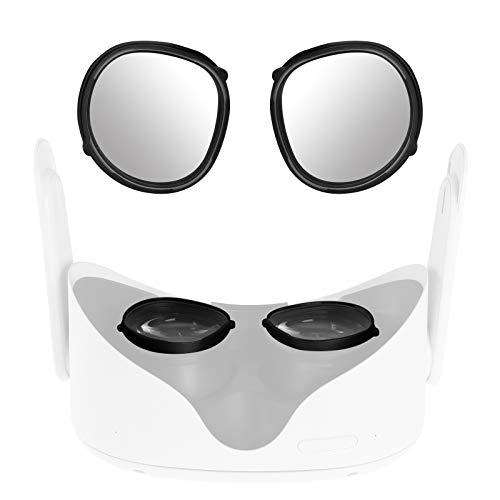 NEWZEROL voor Oculus Quest 2 Lens Scratch Pad Bescherming Bijziendheid Bril tegen krassen VR Headset Lens Compatibel voor Oculus Quest/Oculus Quest 2 - Combinatie Pakketten