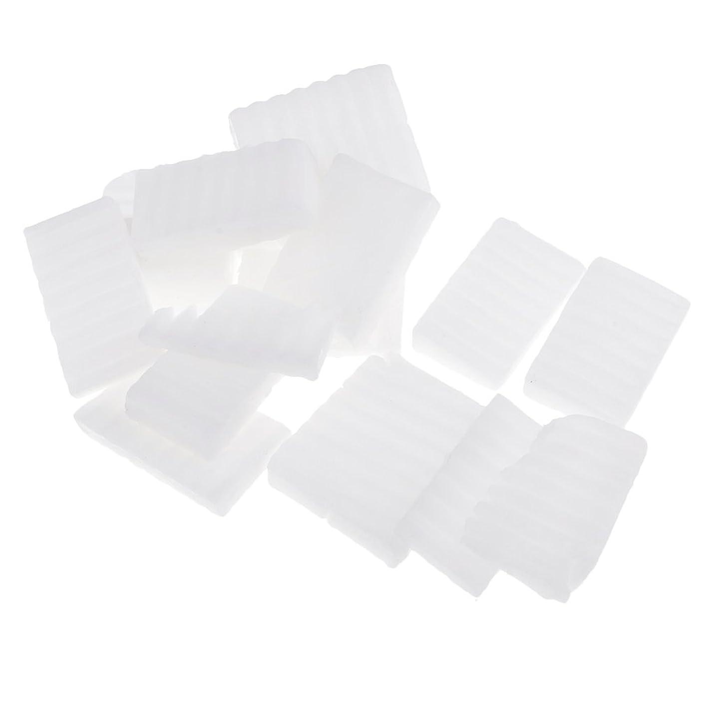藤色プレビュー上Homyl 約500g ホワイト 石鹸ベース DIY 手作り 石鹸 材料