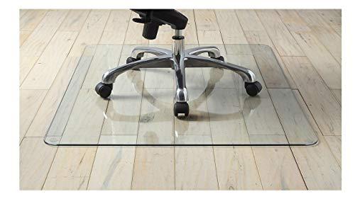 Premium Tempered Glass Chair Mat, 36' x 46' (1)