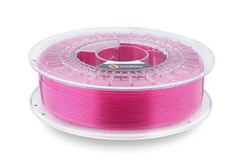 Fillamentum CPE Extrafill Rose Blush transparent 2,85 mm Bobine de filament pour imprimante 3D, tolérance de diamètre +/- 0,05 mm, 750 g
