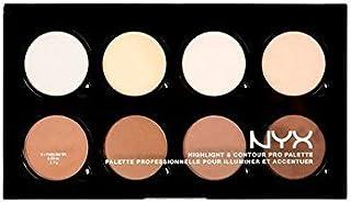 NYX HCPP01 Highlight & Contour Pro Palette 8 Colors x 0.09 oz Full Size **BCS_INPF**