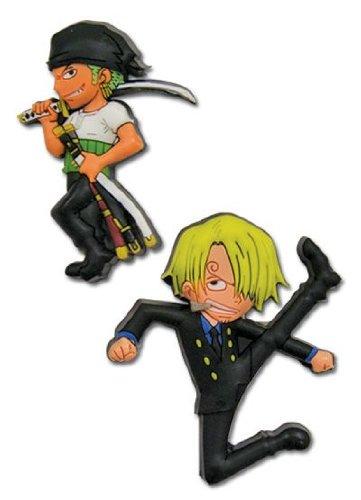 One Piece Zoro & Sanji Broches