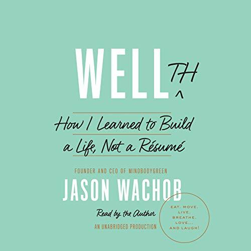 Wellth audiobook cover art