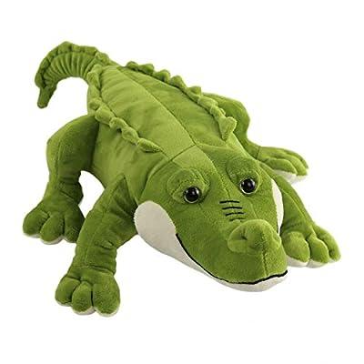 Athoinsu Realistic Stuffed Crocodile Soft Pillow Plush Toy Jumbo Alligator Birthday Children's Day for Toddler Kids Boys, 20''