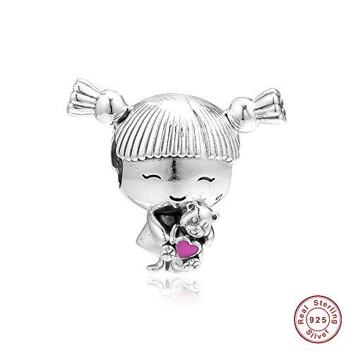 BAKCCI 2019 - Abalorio de plata de ley 925 para pulsera Pandora
