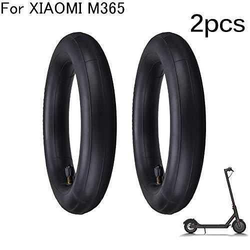 OurLeeme Neumático eléctrico de la Vespa de 2 Pedazos, neumático Delantero/Trasero del reemplazo del neumático de la Rueda Interna del neumático para la Vespa de Xiaomi M365 (2PCS)