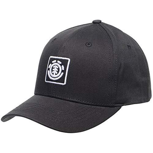 Element Herren TREELOGO Cap Sweatshirt, Flint Black, U