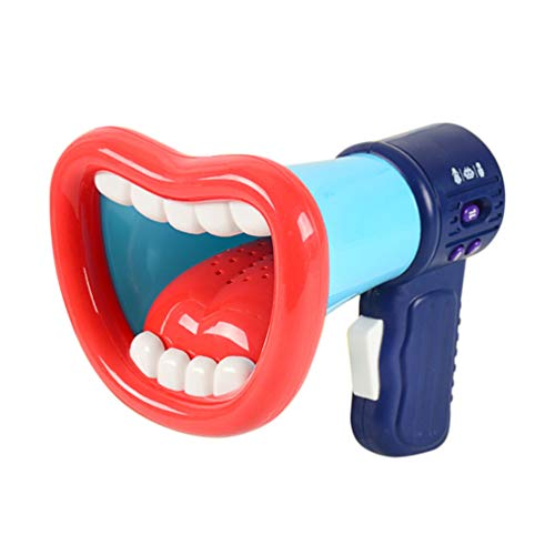 TOYANDONA Voice Changer for Kids with Megaphone Function Handheld Mic Toy Voice Amplifier Megaphone for Festival Birthday (Random Color)