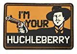 Patriot Patch Co - I'm Your Huckleberry - Doc Holliday Patch