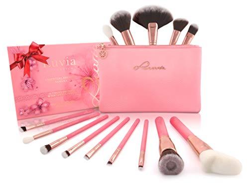 Luvia Profi Beauty Pinsel Set Inkl. Kosmetiktasche Für Schminke - Sakura Make-Up Brush Set - 14...