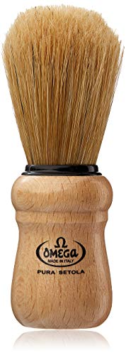 William Marvy No. 5 Omega Wood Handle Shaving...