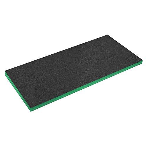 Sealey SF50G Easy Peel Shadow Schaumstoff-Schaumstoff, 1200 x 550 x 50 mm, Grün/Schwarz