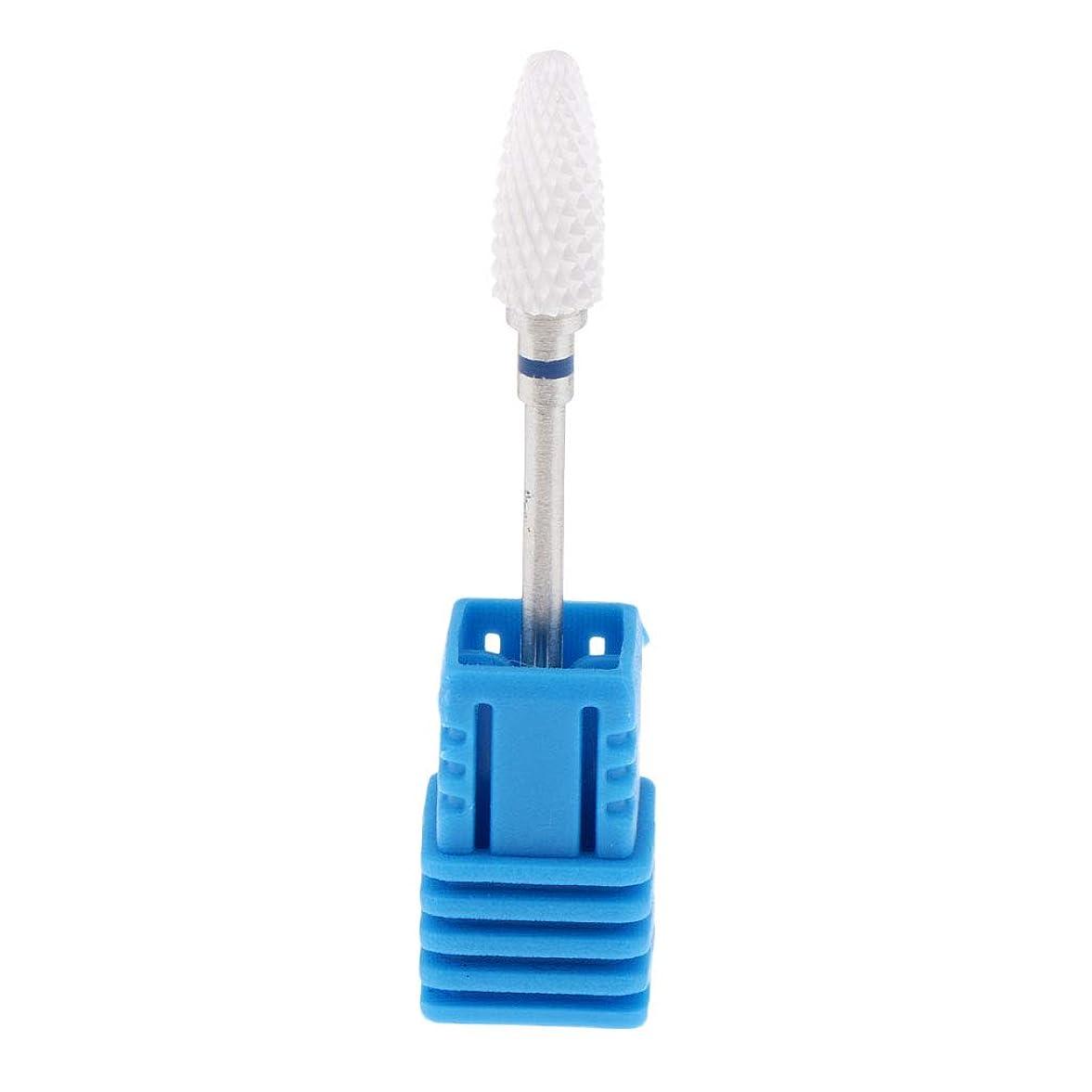 決定するドループアコーFLAMEER 5サイズ ネイルサロン 美容院 プロ ネイルドリルビット - M