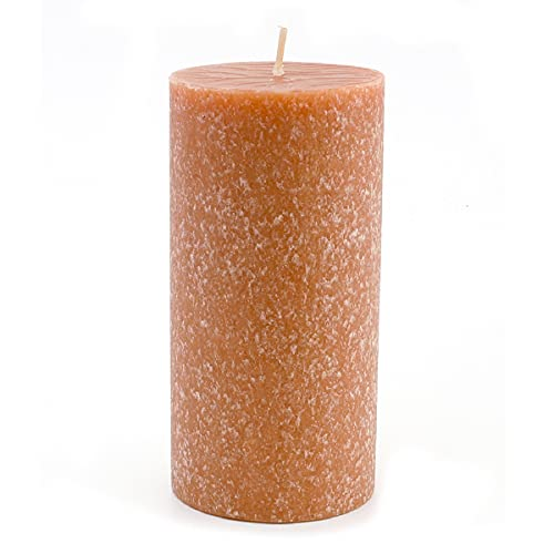 Root Candles 33619 Unscented Timberline Pillar Candle , 3 x 6-Inches, Rust