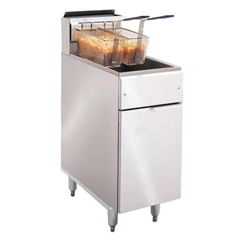 Read About Imperial Commercial Fryer Gas-Tube Fired Stainless Steel Fry Pot Natural Gas Model Ifs-50
