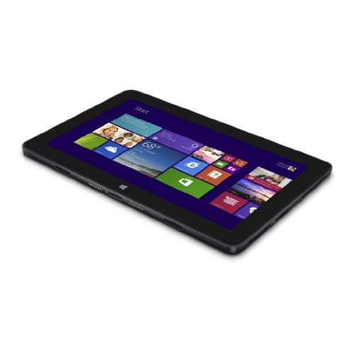 Dell Venue 11 Pro 5130-3547 27,43 cm (10,8 Zoll) Tablet PC (Intel atom Z3770, 2,4GHz, 2GB RAM, 64GB HDD, Win 8, Touchscreen) schwarz