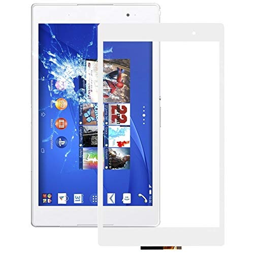 YUNSHUIVICC Touch Panel for Sony Xperia Z3 Tablet Compact / SGP612 / SGP621 / SGP641 (Black) (Color : White)