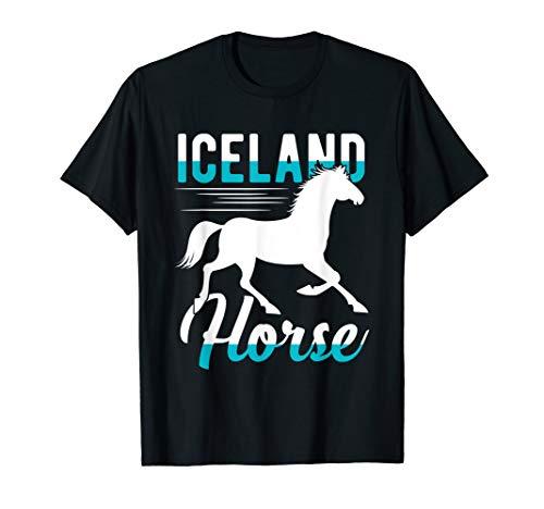 Island Pferd | Lustiges Pferde Pony Geschenk T-Shirt