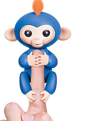 Mono Juguete Mono Interactivo Mascota Interactiva Robot Inteligente De La Lengua del Aprendizaje del Niño del Mono del Dedo Azul