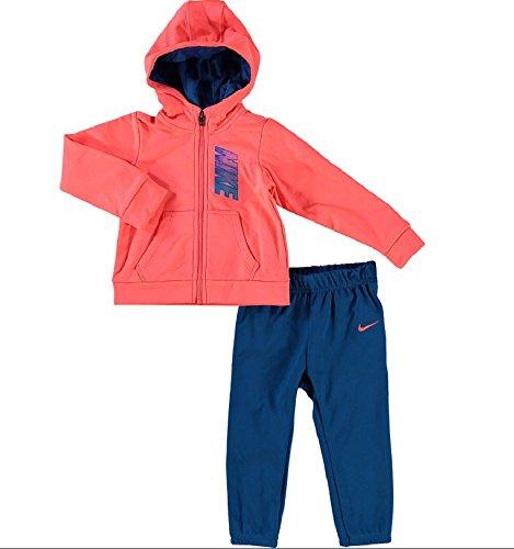 Nike Kinder Trainingsanzug 408s-u72, Baby - Jungen, Trainingsanzug, 408S-U72_XXS_Blanco, weiß, 24 Meses