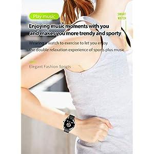 """Reloj Inteligente Deportivo para Hombre, Smartwatch para Hombre con Llamada Bluetooth, 1,28 """" TFT, 22MM, Pulsómetro,Resistente al agua,Modo deportivo,Modo de Sueño,Cronómetro,Negro"""