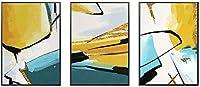 GXZZクリエイティブな壁画、リビングルームの装飾画、コントラストカラーデザイン、インダストリアルスタイルの絵画、モダンなシンプルさ