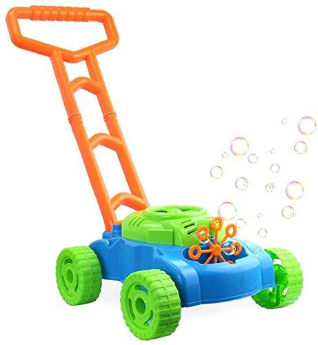 MUXIN Segadora Máquina De Burbujas, Burbuja Eléctrico Automático Blowing Bebé Walker Burbuja...