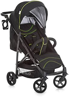 Hauck 148341-Buggy, Color Caviar and Neon Yellow