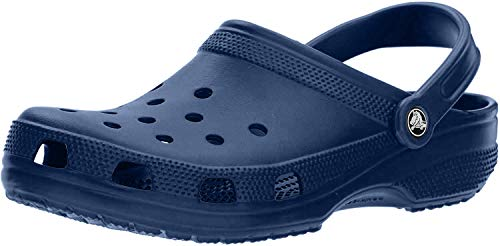 Crocs Unisex-Adult's Classic Clogs, Blue (Navy), 3 Men/ 4 UK Women