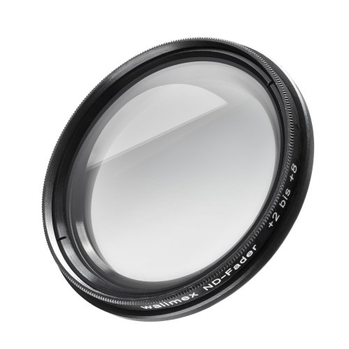 Walimex Graufilter ND-Fader 58 mm +2 bis +8 Blenden