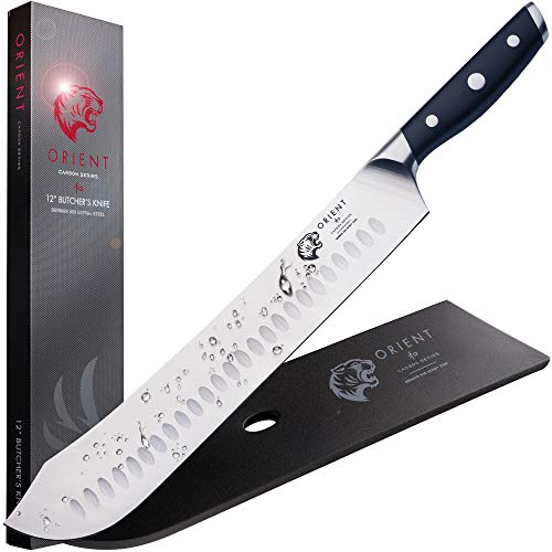 Cuchillo de tipo carnicero de 30 cm, para picar y cortar pescado...