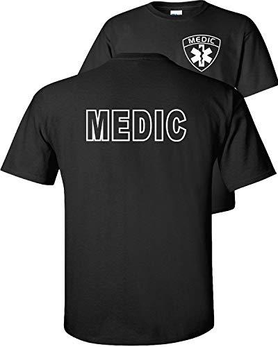 Fair Game Emergency Medical Services Medic T-Shirt-Black-L