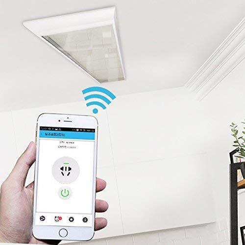 Infrarotheizung 1000W Glas Infrarotstrahler Dunklerstrahler Wi-Fi bedienbar HDW